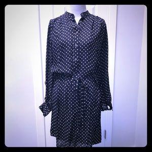 Rebecca Minkoff Polka Dot Shirt Dress
